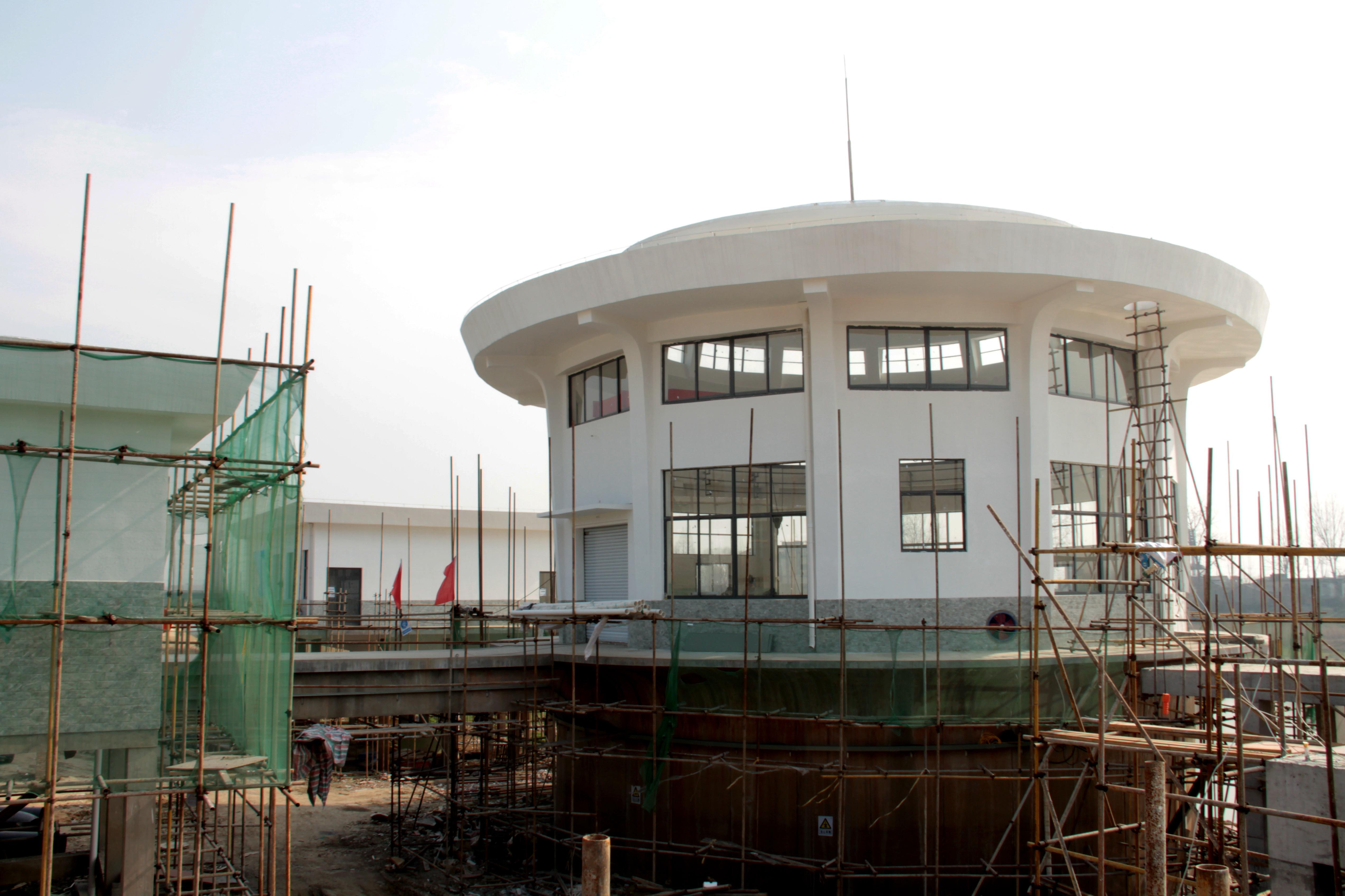 沦河应急水源泵站改造工程进入...